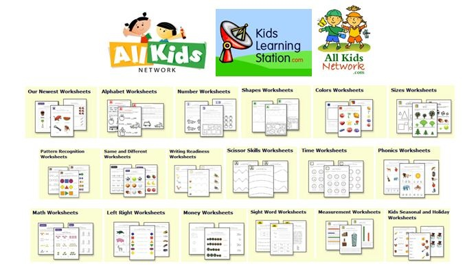 All Kids Network Web Site