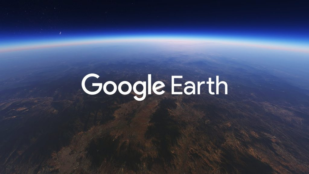 Google Earth Web Page