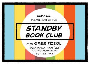 Greg Pizzoli Standby Book Club