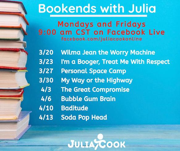 Julia Cook Online Facebook Live