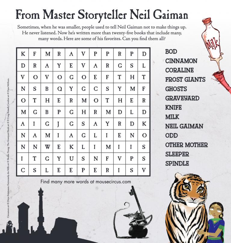 Neil Gaiman puzzle