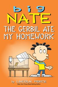 708838 big nate the gerbil ate my homework