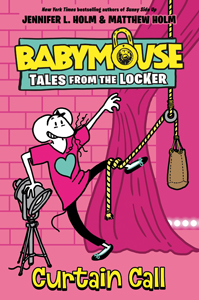 460037 babymouse tales from the locker curtain call