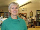 Angie Adams, Lead Librarian at Vista Grande Elementary School in Rio Rancho, New Mexico